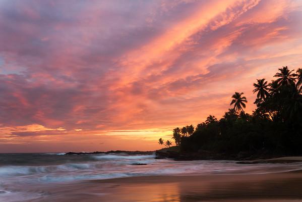 Tangalle Sunset Skies
