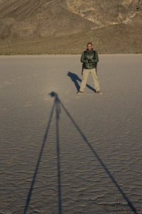 Vivek at the Racetrack Playa - Death Valley National Park, CA, USA