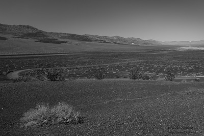 Landscape near Ubehebe Crater - Death Valley National Park, CA, USA