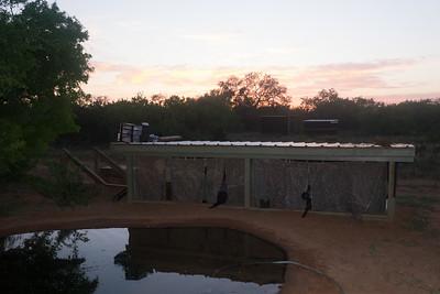 One the blinds at Laguna Seca Ranch - Edinburg, TX, USA