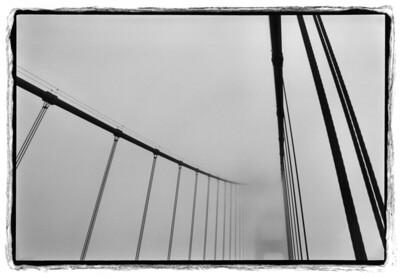 Golden Gate in fog, 2003
