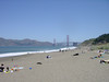 Golden Gate Bridge, distant