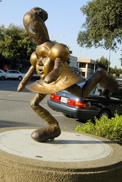 Curious Statue