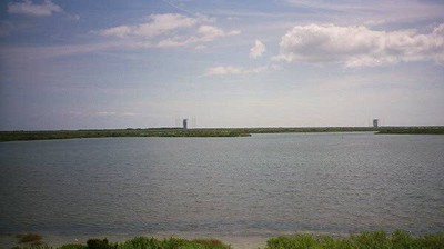 Kennedy Space Flight Center. The center is mostly empty space, and it also serves as a wildlife sanctuary.