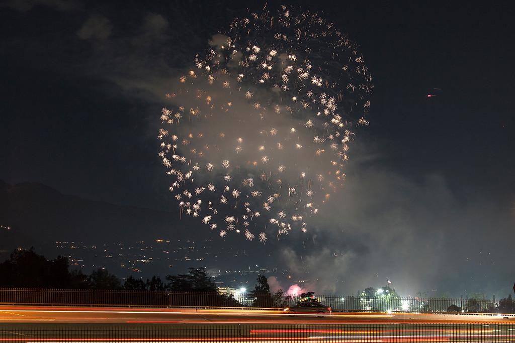 Pasadena Rose Bowl Fireworks