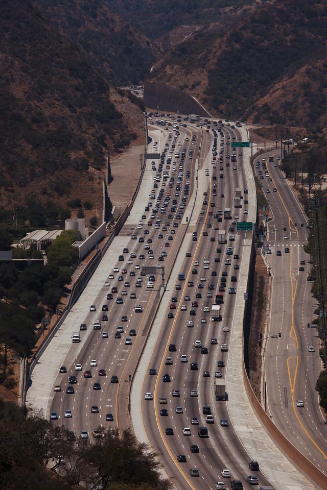 LA Freeway, Pacific Palisades
