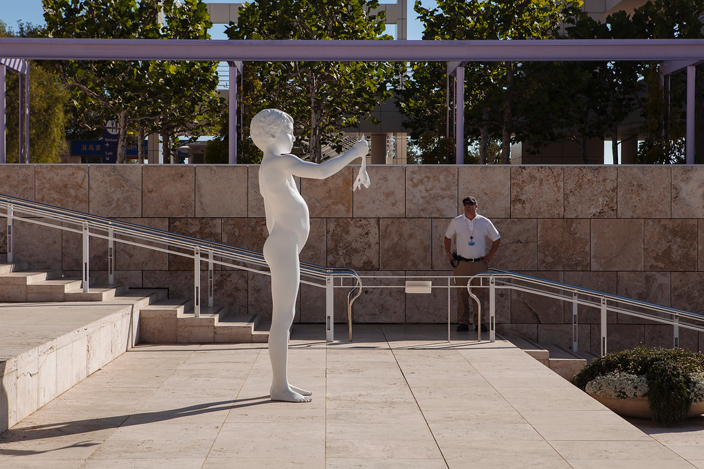 Boy with Frog with Guard, Getty Centre