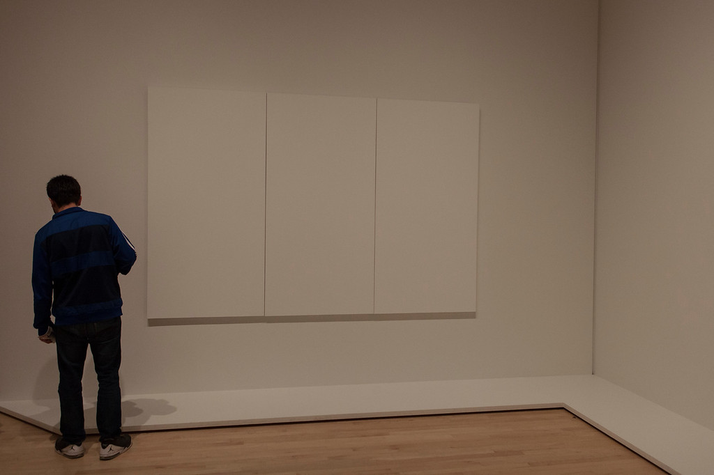 Blank Canvas, San Francisco MOMA