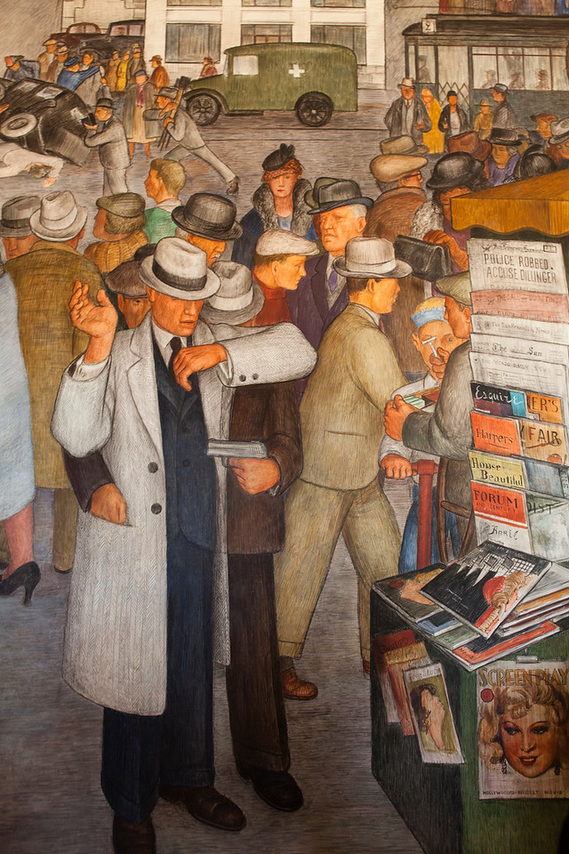 Coit Tower Murals, San Francisco