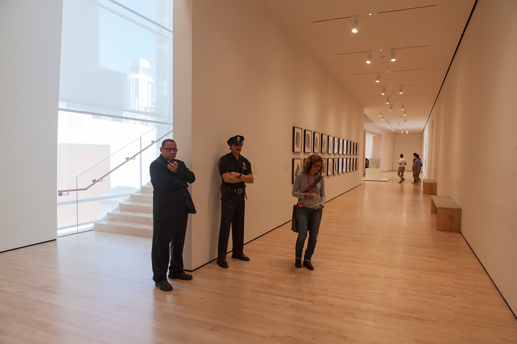 Tight Security, San Francisco MOMA