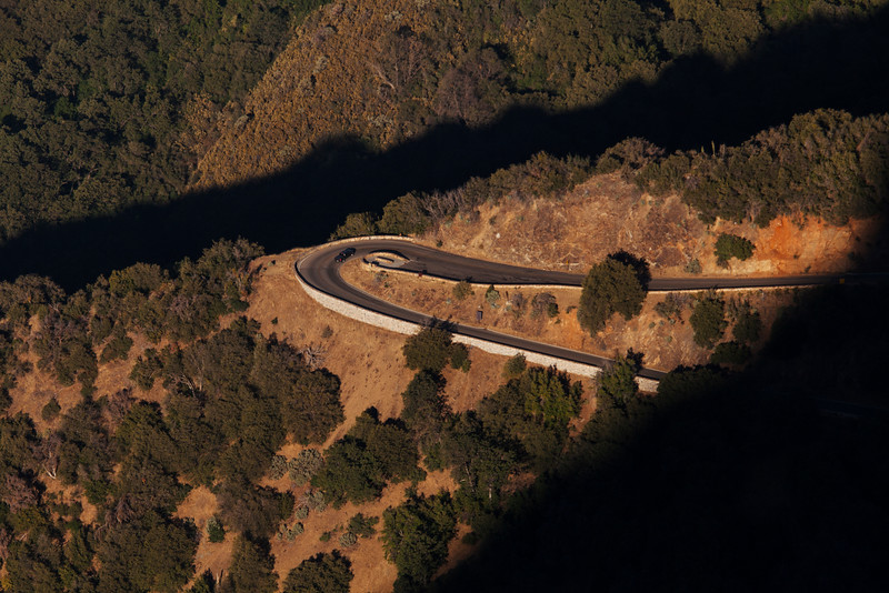 Switchback, Sequoia National Park