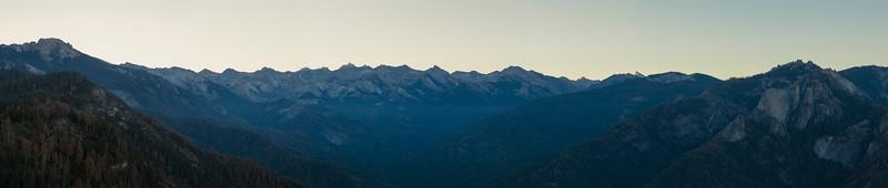 High Sierra Silhouette, Sequoia National Park
