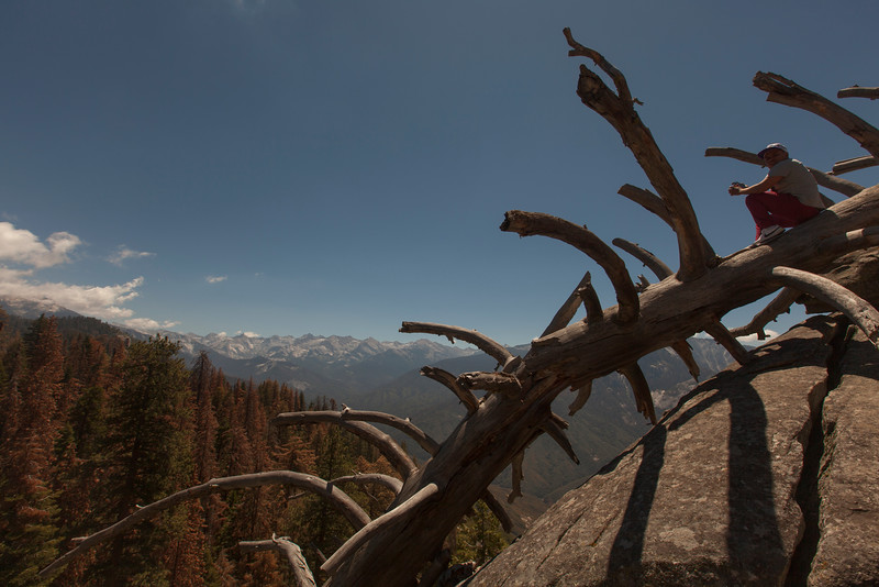 The Lookout, Moro Rock, Sequoia National Park