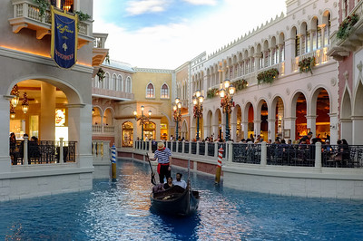 The Venetian...this is indoors...with fake daylight.