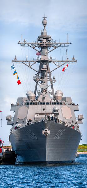 406.3 megapixel panorama of the USS Delbert D. Black (Arleigh Burke-class destroyer)