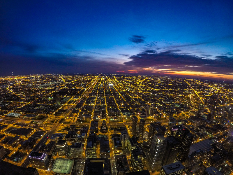 Skydeck Chicago Susnet