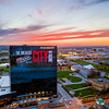 JW Marriott Indy Sunset Aerial - April 22, 2017