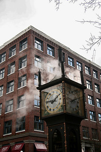 Steam Clock, Gas Town, Vancouver