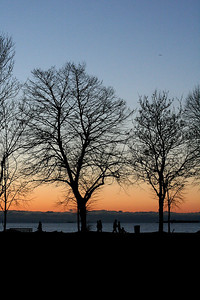 Sunset, English Bay, Vancouver