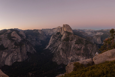 Twilight, Glacier Point, Yosemite