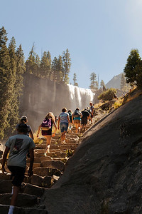 Vernal Falls Trail, Yosemite