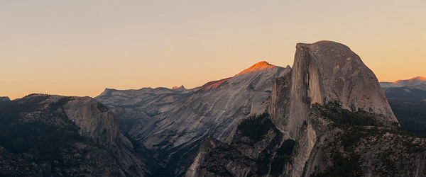 Last Light on Cloud's Rest, Yosemite