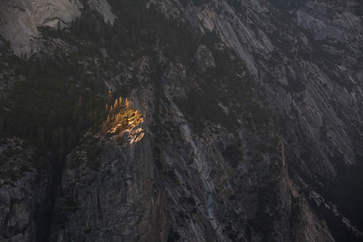 Last Light, Washington Column, Yosemite