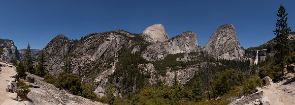 Nevada Falls and Liberty Cap, Yosemite