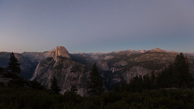 Twilight at Glacier Point, Yosemite