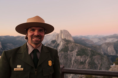 Park Ranger, Glacier Point, Yosemite