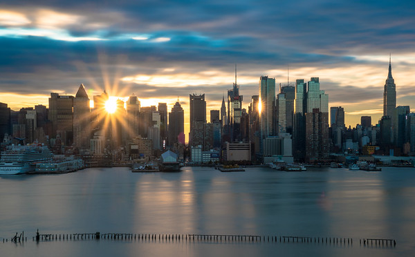 Manhattan Sunrise
