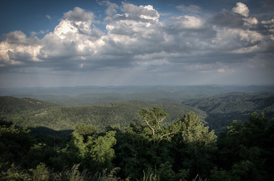 Blue Ridge Parkway - Overlook