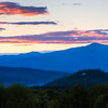 New Hampshire-Sunset-Mt. Washington-White Mountains