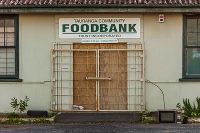 Tauranga Community Foodbank, 2014.