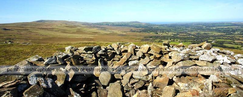 Bronze Age Cairns, Foel Drygarn, Preseli Hills,