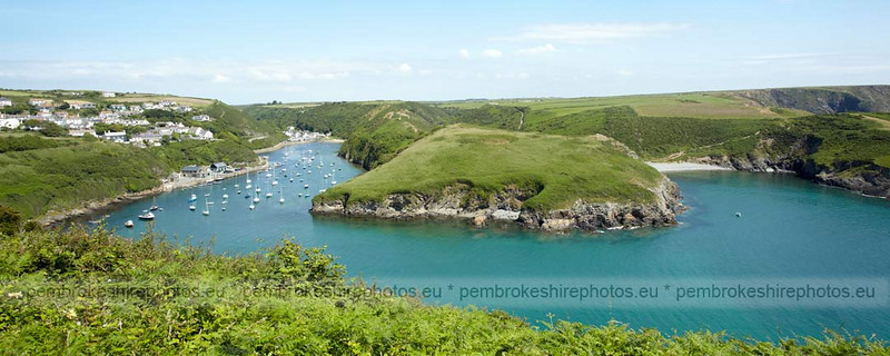 Solva from Coast path.