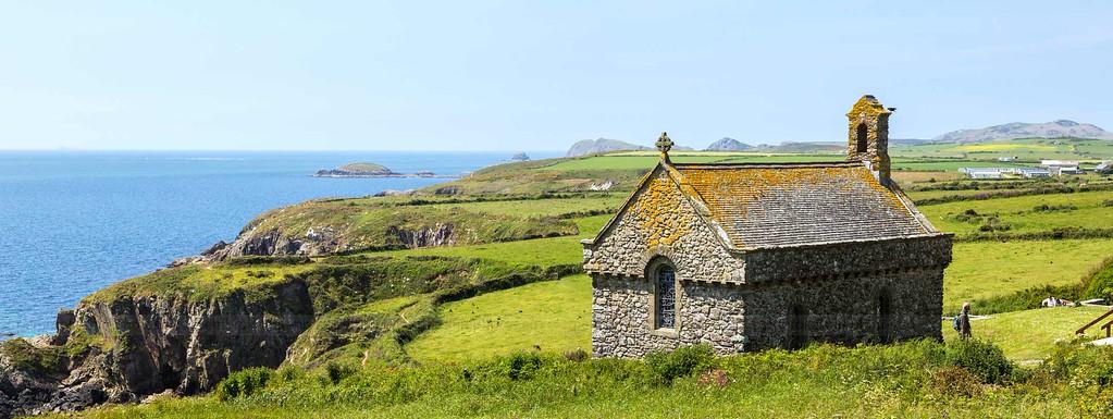Coast path at St Non's, Pembrokeshire
