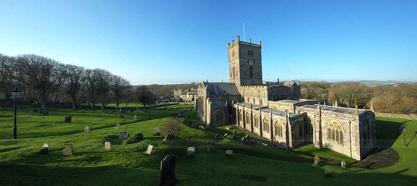 St David's Cathedral.