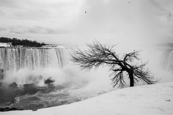 Niagara Fall in February 2018