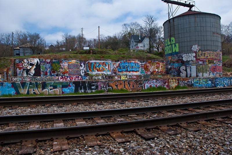 Trackular graffitti
