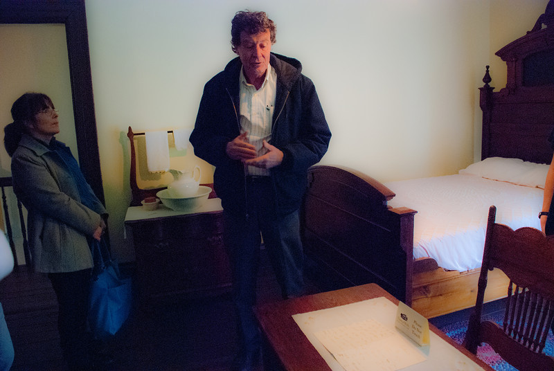 Tour guide Tom Muir helps us relive the life of Thomas Wolfe