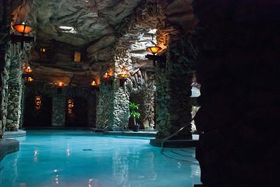 Grove Park Spa pool, no cameras allowed ;+)