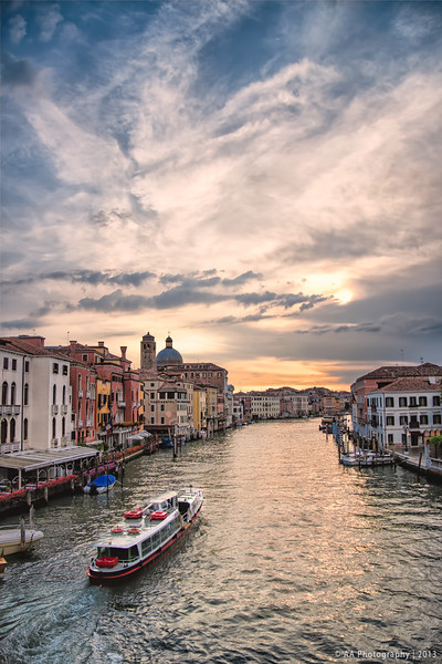 Grand Canal - Early Evening