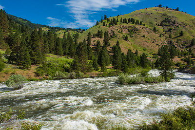 Rapids on the North Fork Payette River, Idaho.