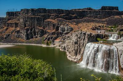 Shoshone falls.  Twin Falls, Idaho.