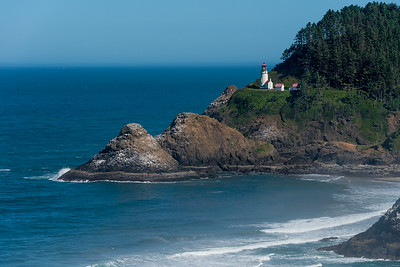 Heceta Head light house.
