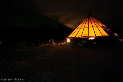 Sami tent