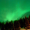 Northern Lights set fire to Arctic forest