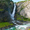 Waterfall near Gjora in Norway