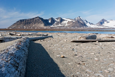Scenery, Poolepynten, Svalbard 24 July 2009
